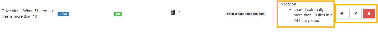 GAT+ | Set up a Google DLP Alert on the Number of Drive Files Shared Externally 3