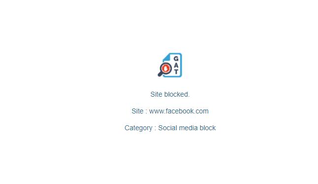 GAT Shield: Automatically Block URL Sites | Site Control 6