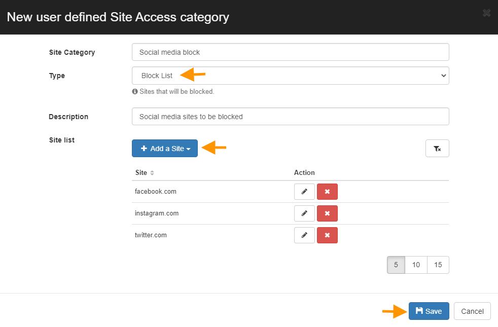 GAT Shield: Automatically Block URL Sites | Site Control 2