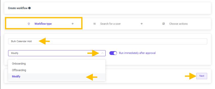 GAT Flow | How To Bulk Add User's to Calendar 3