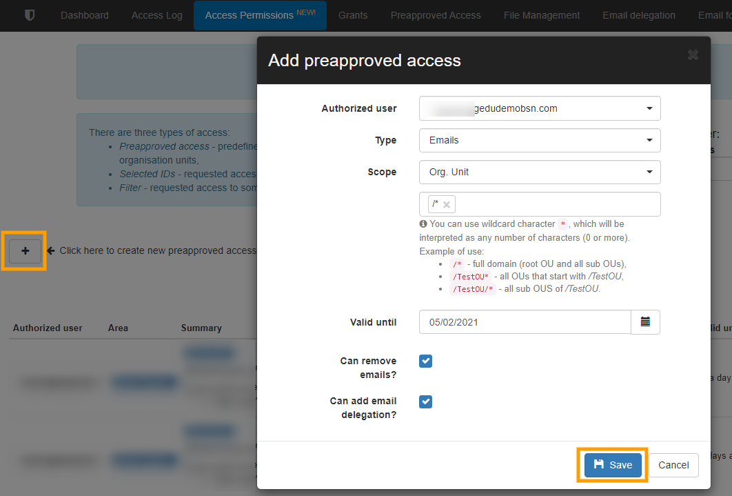 GAT+ Set Up Pre-Approval for Unlock v2 2