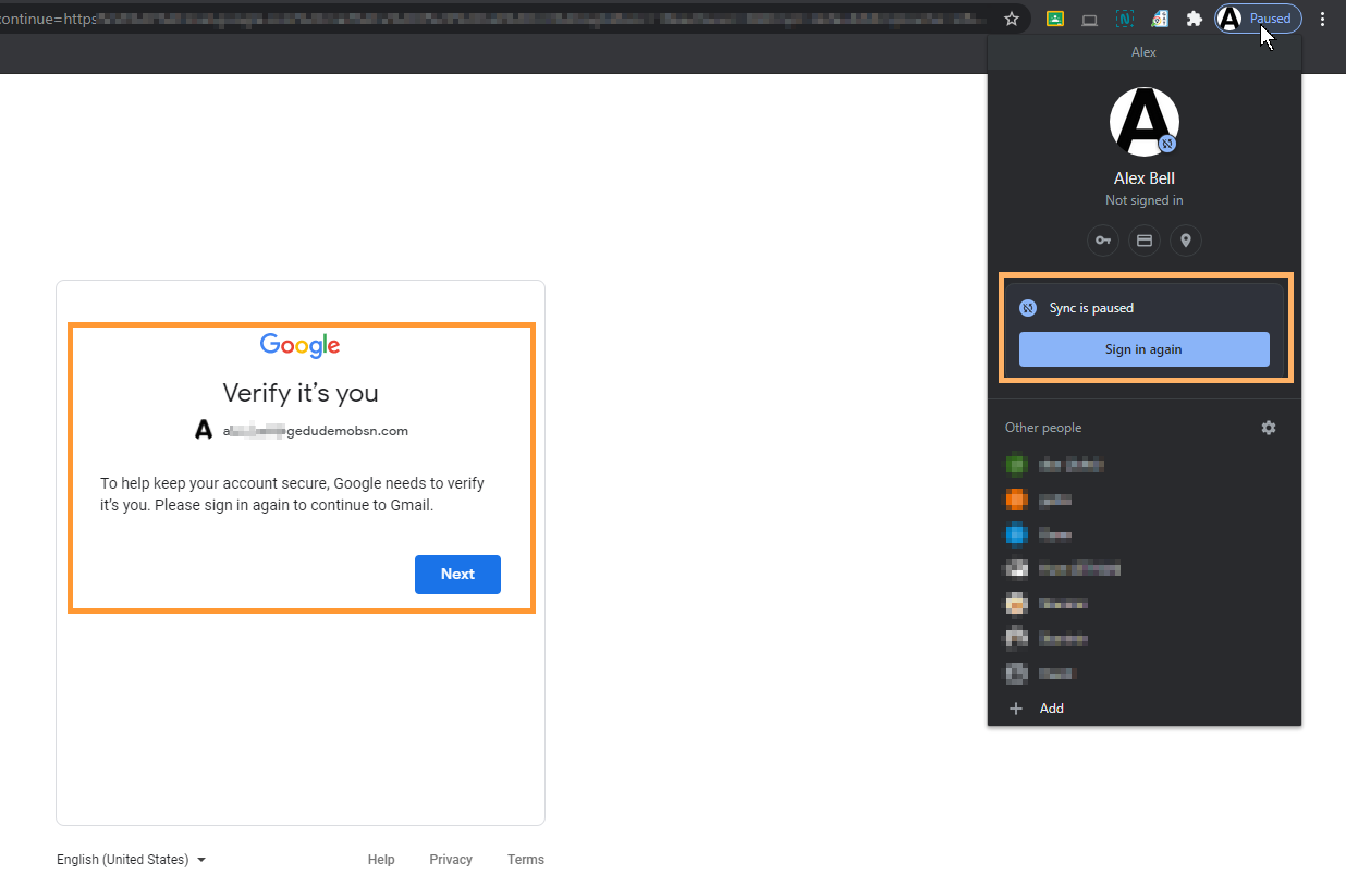 GAT Flow | Force Sign Out Google Workspace Users 8