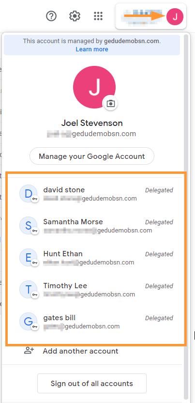 GAT Flow | Google Workspace Bulk Email Delegation 7