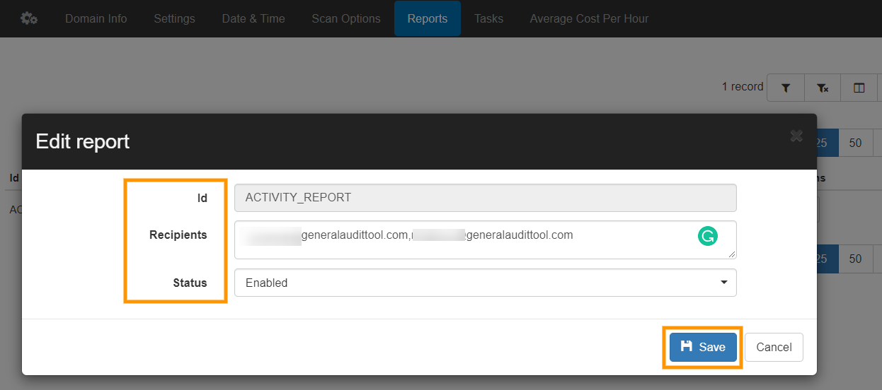 GAT+ | Activity Report for your Google Workspace domain 3